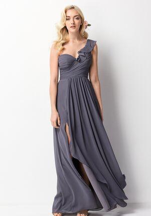 Wtoo Maids 201 One Shoulder Bridesmaid Dress