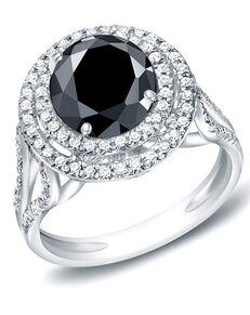 DiamondWish.com Unique Round Cut Engagement Ring