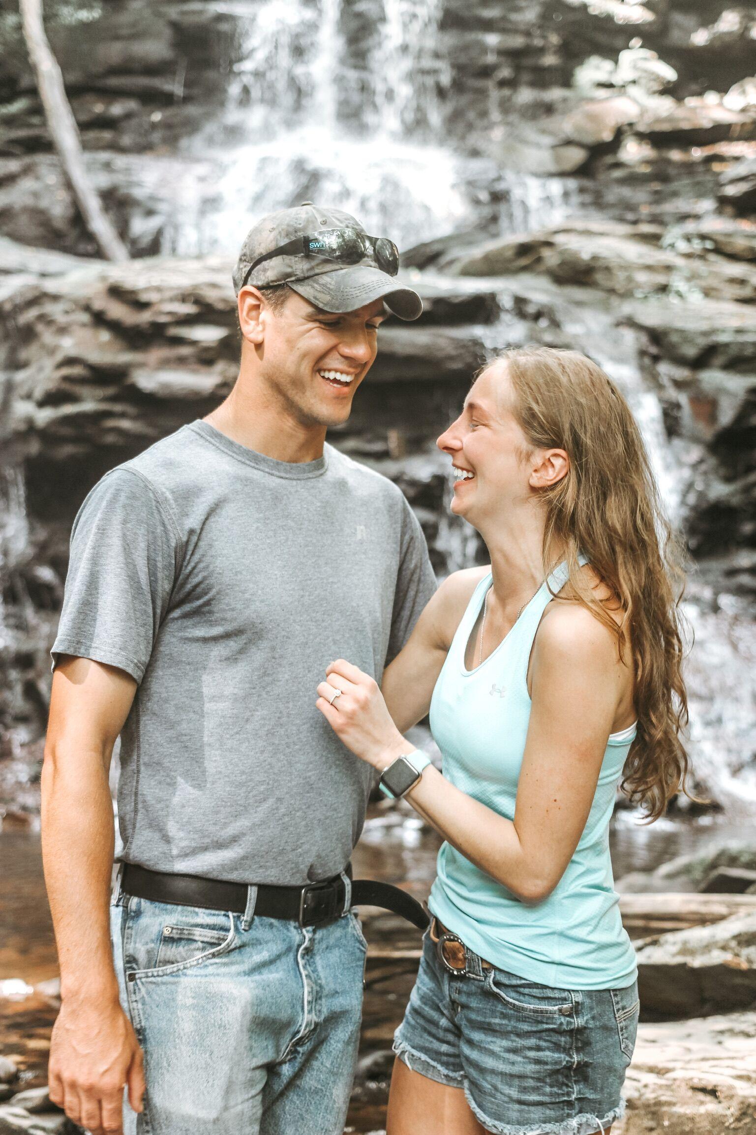 Image 1 of Lindsay and Jonathan