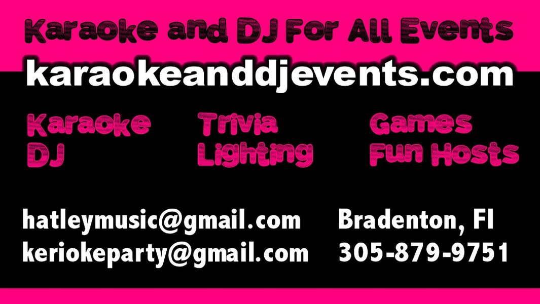 Karaoke and DJ For All Events - Karaoke DJ - Bradenton, FL