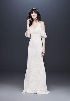David's Bridal Galina Style WG3954 Mermaid Wedding Dress