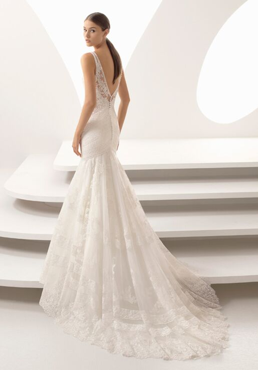 Mermaid Style Wedding Dress.Adeline