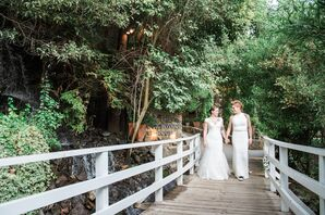 Rustic Garden Venue in Malibu