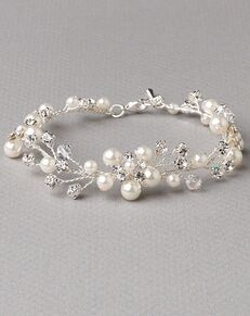 Dareth Colburn Pretty Floral Vine Bracelet (JB-4827) Wedding Bracelet photo