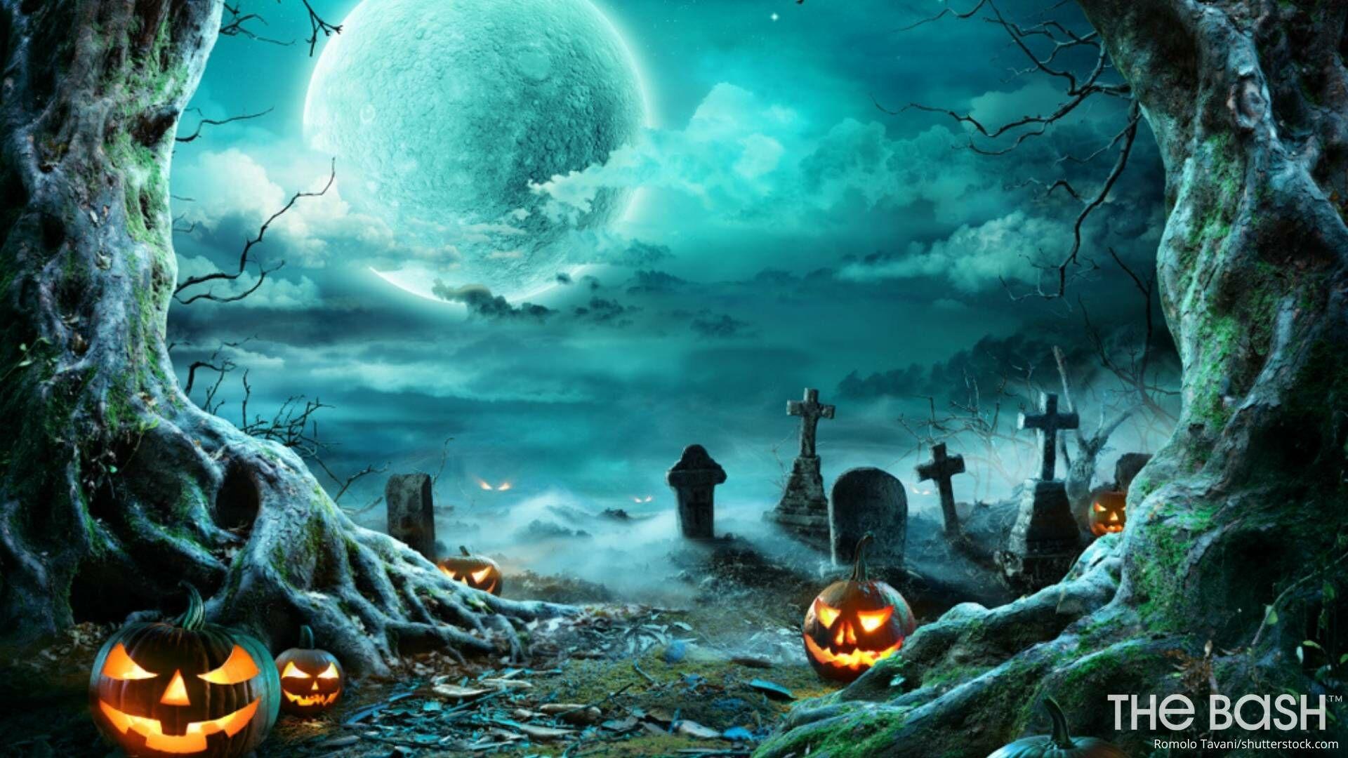 Halloween Achtergrond.45 Halloween Zoom Backgrounds Free Download
