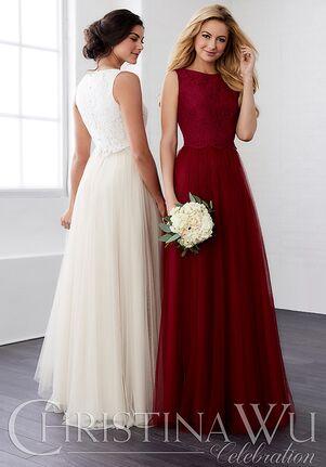 Christina Wu 22805 Bateau Bridesmaid Dress