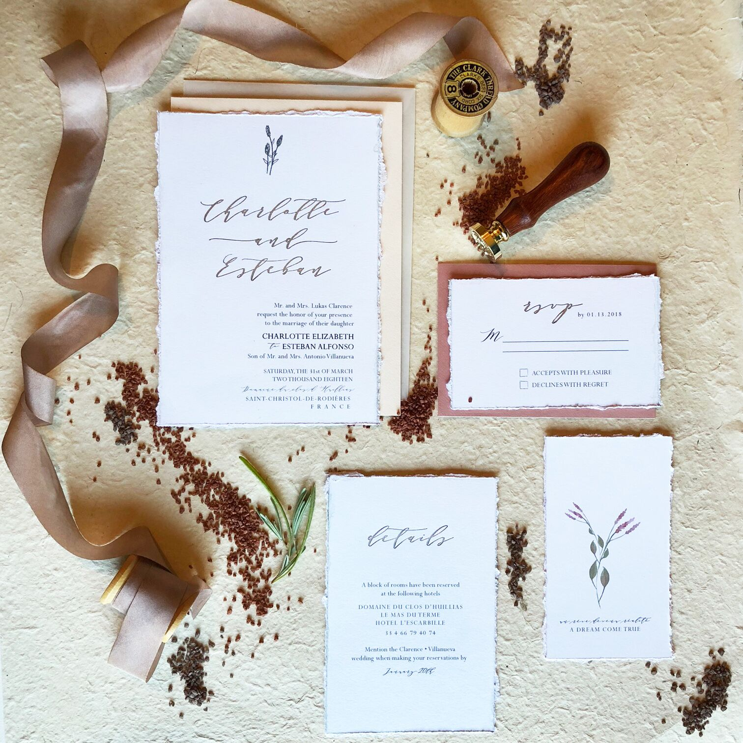 Invitations paper in philadelphia pa the knot elephant limbo monicamarmolfo Choice Image