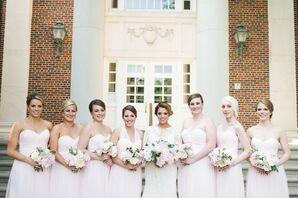 Blush Watters Bridesmaid Dresses