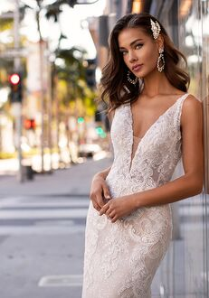 Moonlight Couture H1441 Mermaid Wedding Dress