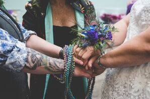 Handfasting Ceremony with Beads