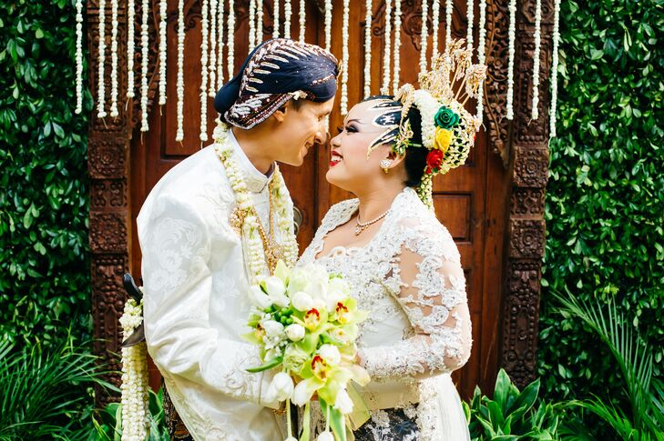 A Traditional Javanese Wedding at a Private Home in Jakarta, Indonesia