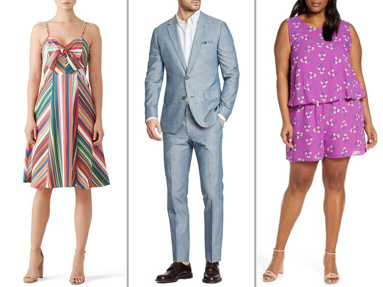 A Guest S Guide To Beach Wedding Attire