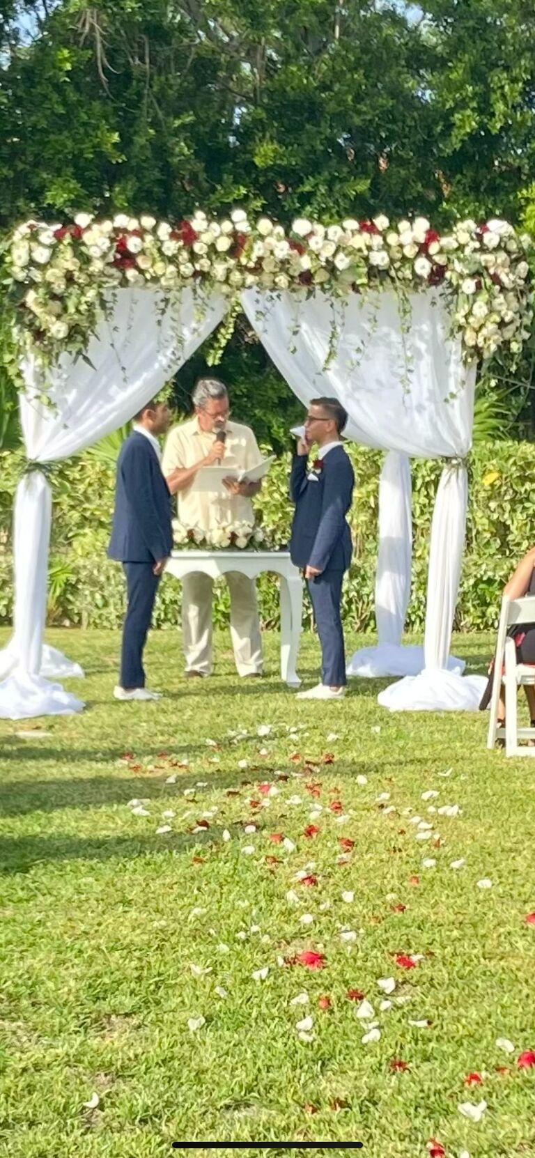 Matt and Manny tied the knot!