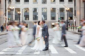 White Sleeveless Pronovias Wedding Dress