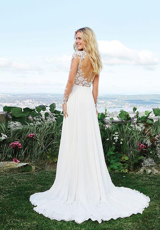 Lillian West 6422 A-Line Wedding Dress