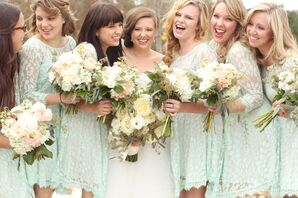 Mint Free People Bridesmaid Dresses