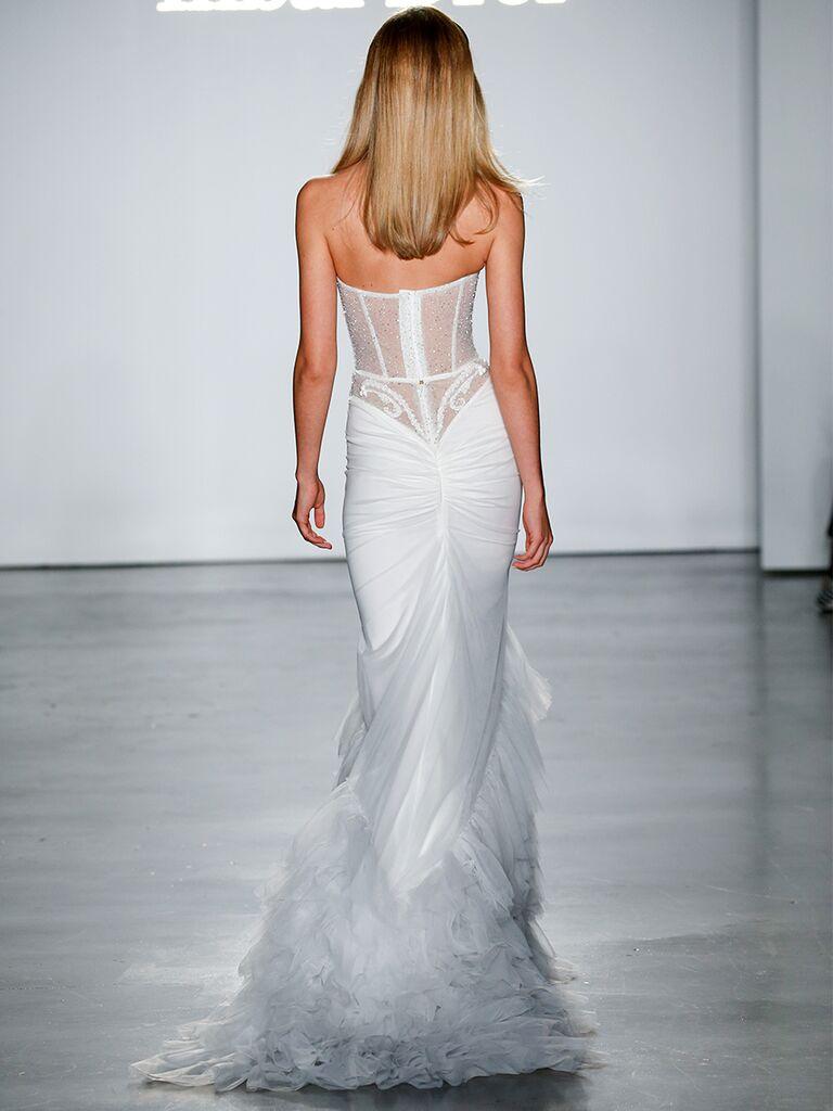 Organza Fit Flare Corset Wedding Dress Stella York Wedding Dresses