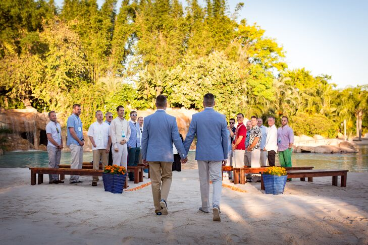 Casual Beach Ceremony Processional