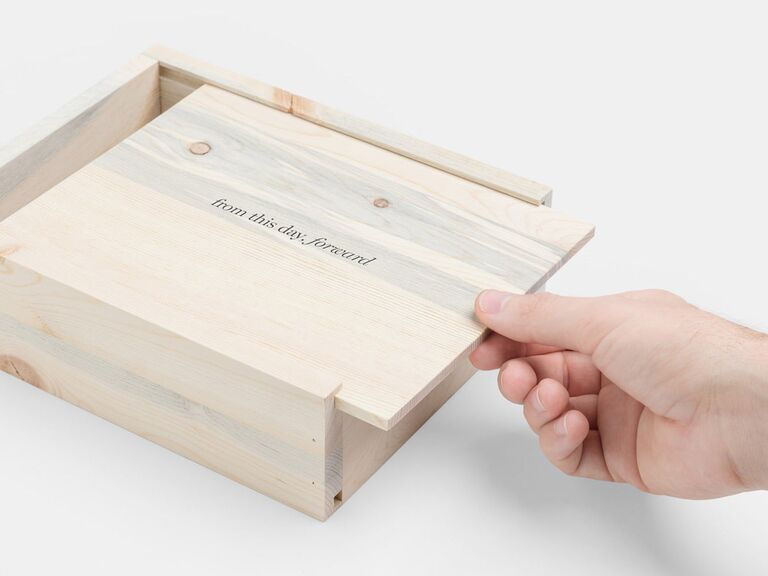 Photo gift box