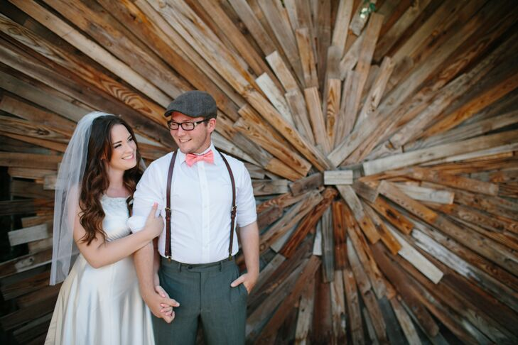 Katie Uhrich (20) and Dustyn LaBarbera (20) envisioned having an outdoor wedding with a