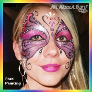 Minneapolis, MN Face Painter | All About Fun For Kids
