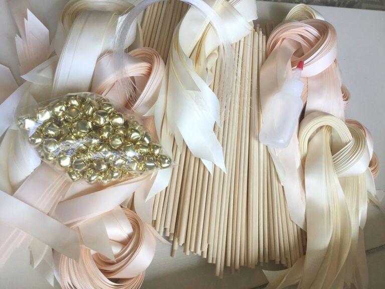 DIY wedding wand kit