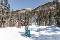 Alina Rich and Chris Quattlebaum's love of the mountains served as the inspiration for their late-February nuptials. After two weeks of being engaged,