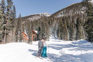 Postceremony Skiing