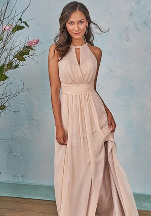 B2 Bridesmaids by Jasmine B203004 Halter Bridesmaid Dress