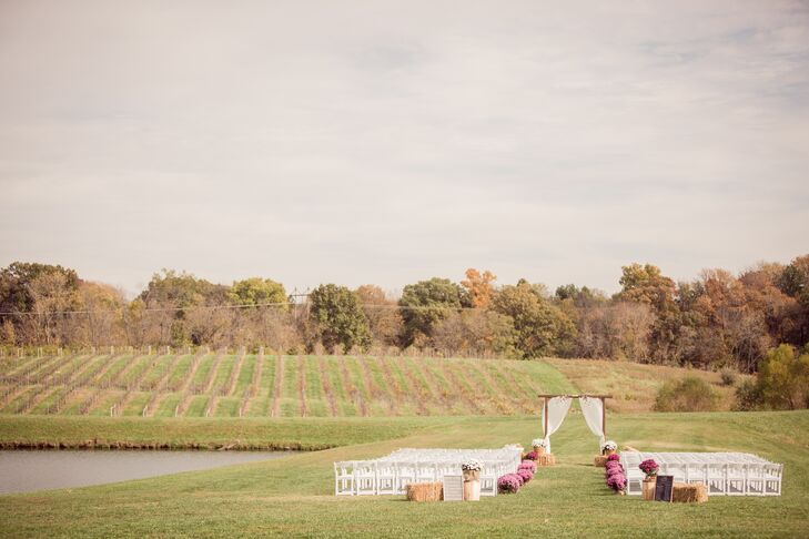 The Ceremony Site at the Villa Marie Winery