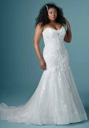 Maggie Sottero LONNIE LYNETTE Mermaid Wedding Dress