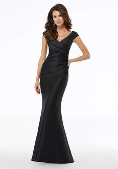 MGNY 72135 Black Mother Of The Bride Dress