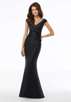 MGNY 72135 Black,Gray,Purple Mother Of The Bride Dress