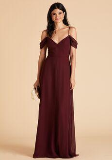 Birdy Grey Devin Convertible Dress in Cabernet Sweetheart Bridesmaid Dress