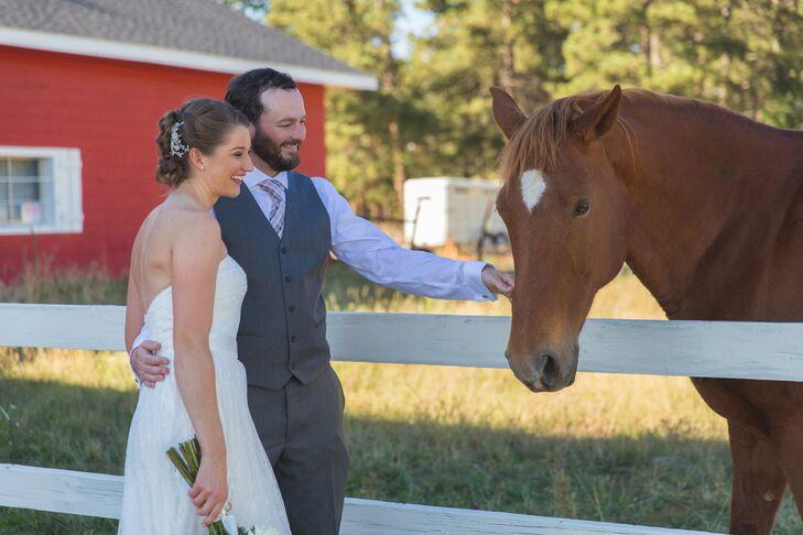 Abby and Ian, Barn Wedding