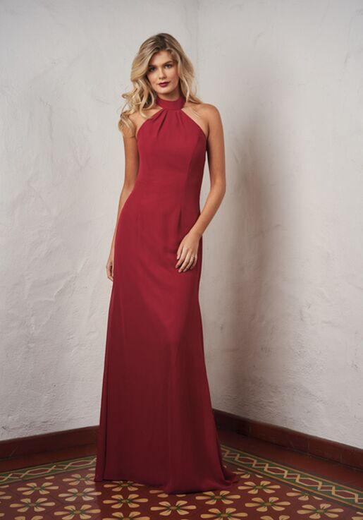 JASMINE P216061 Halter Bridesmaid Dress