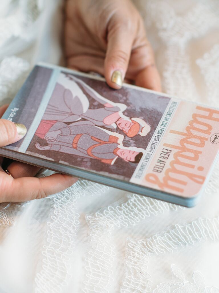 Happily Ever After vow book idea