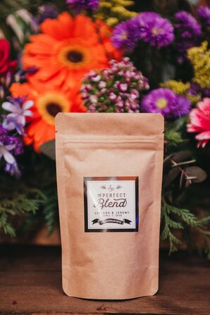 """The Perfect Blend"" Guatemalan Coffee Wedding Favor"