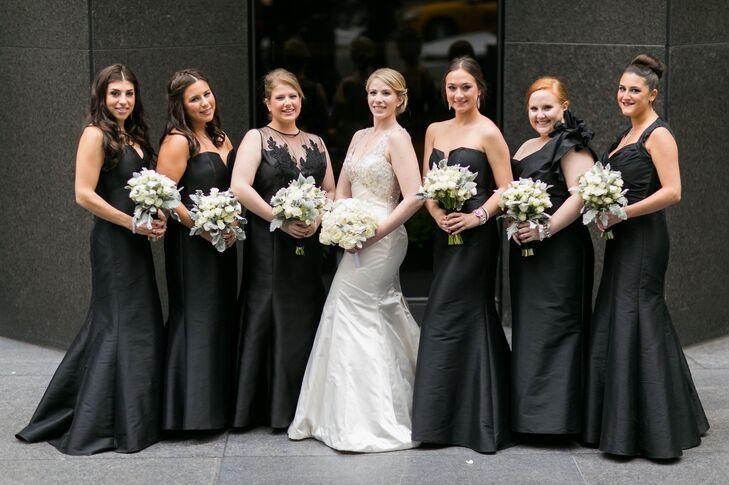 Jim Hjelm Formal Black Bridesmaid Dresses