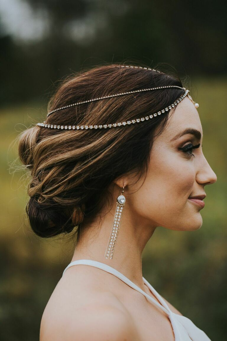Wedding Hairstyles Elaborate Headpiece