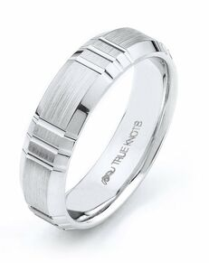 TRUE KNOTS True Man - 490DCW Palladium, Platinum, White Gold Wedding Ring