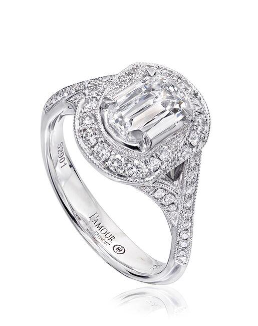 b27536f3b Christopher Designs L135-100 White Gold Wedding Ring