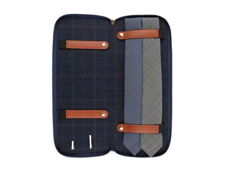 Travel tie case 30th anniversary gift for husband