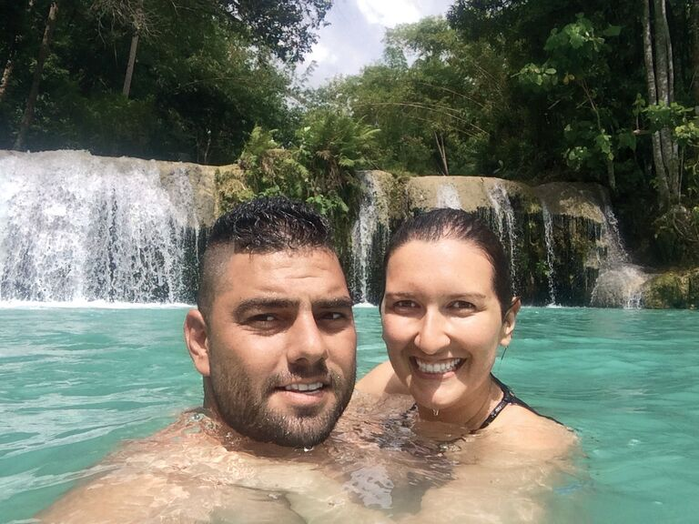 Newlyweds in the Philippines for honeymoon