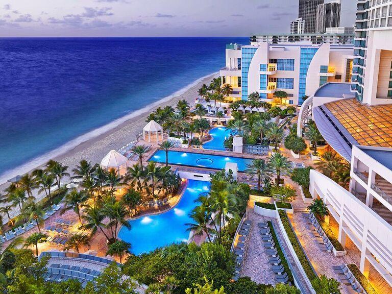 The Diplomat Beach Resort in Fort Lauderdale