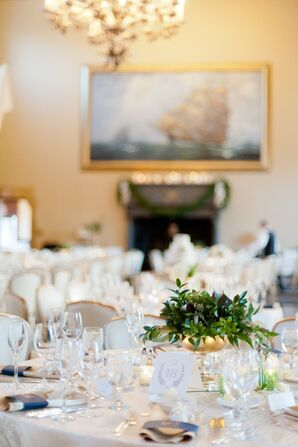 Ivory Ballroom Reception Decor