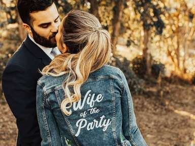 Wife of the Party jean jacket