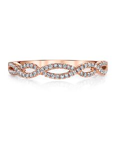 MARS Fine Jewelry MARS Jewelry 25162B-R20 Wedding Band Rose Gold Wedding Ring