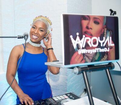 Wroyal the DJ