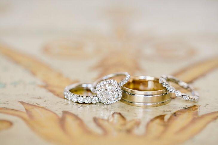 Diamond Weddings Bands